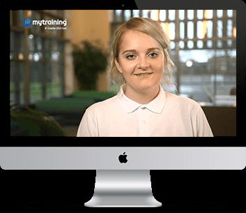 Training video screenshot
